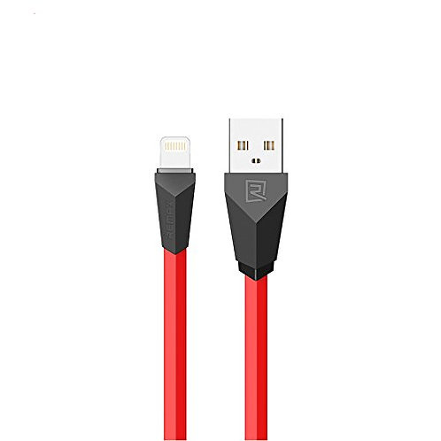 REMAX LIGHTNING CABLE FOR APPLE RED