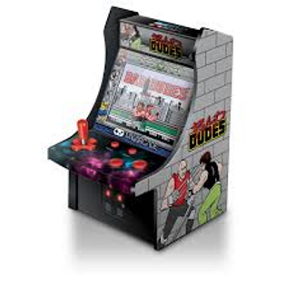 MY ARCADE 6 IN MICRO PLAYER BAD DUDES MACHINE