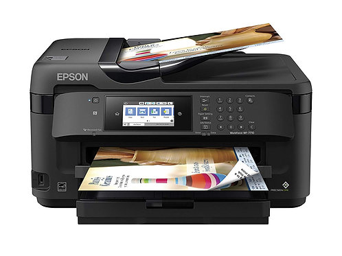 EPSON WORKFORCE C11CG36201 WF-7710 WIRELESS AIO PRINTER