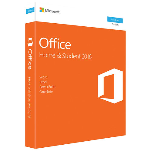 MS OFFICE 2016 H&S PKC #79G-04589 NEW PACKAGE