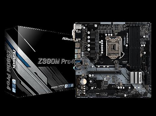 ASROCK Z390M PRO4 LGA 1151 INTEL Z390 HDMI SATA 6Gb/s USB 3.1 MICRO ATX MB