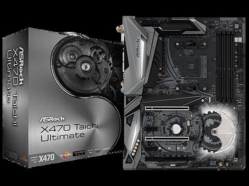 ASROCK X470 TAICHI ULTIMATE AM4 SATA3 & USB 3.1 M.2 ATX AMD MB