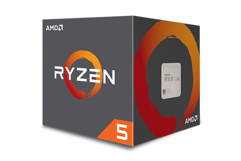 AMD-RYZEN 5 1600 AM4 3.6 GHZ 6 CORES YD1600BBAEBOX