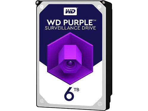 """HDD 6TB WD 3.5"""" WD60PURX SATA6 64MB SURVEILLENCE HD"""