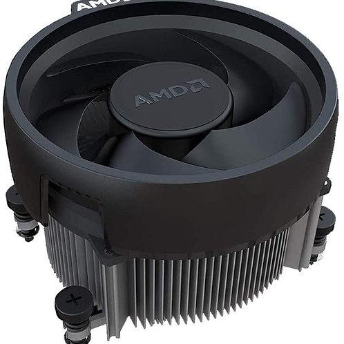 AMD WRAITH SOCKET AM4-PIN WITH COPPER CORE BASE HEATSINK (NO RGB)