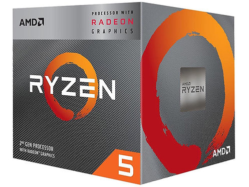 AMD RYZEN 5 3400G 3.7 /4.2GHZ  AM4 65W YD3400C5FHBOX