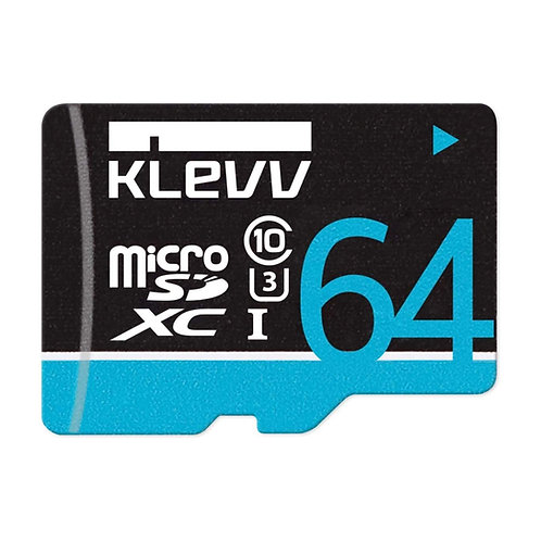 MICRO SDXC 64G KLEVV U064GUC3U14-B C10 UHS-I U3 PREMIUM
