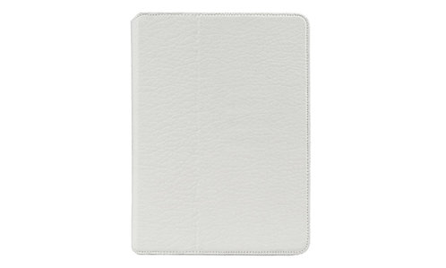 AMBERCNE LEATHER TABBY FOLIO CASE FOR IPAD AIR 2 WHITE
