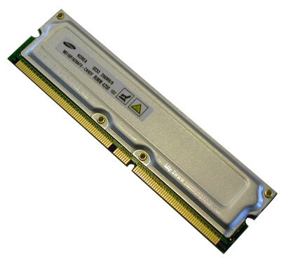 PC-800 512M RAMBUS /3 SS/SS NON-ECC