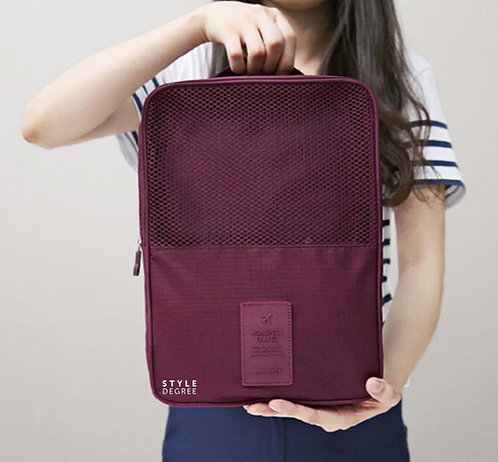 QIANYECAO TRAVEL POUCH PLUM
