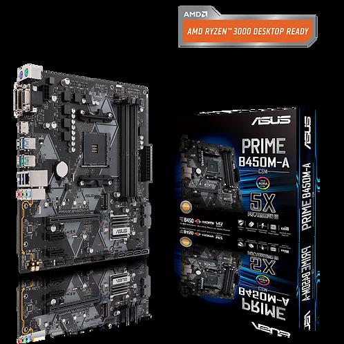 ASUS PRIME B450M-A/CSM AM4 64G mATX Retail MB