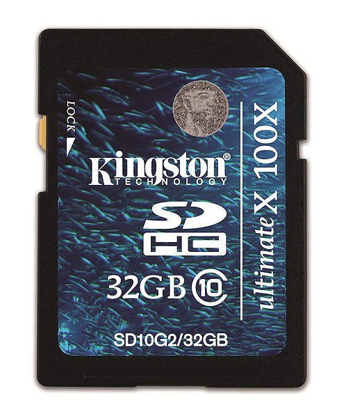 SDHC 32G KINGSTON C10 ULTIMATEX 100X SD10G2/32GBCR