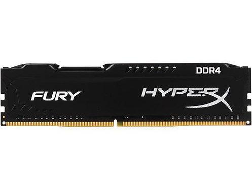 DDR4-2400 4G KINGSTON FURY BLACK CL15 #HX424C15FB/4