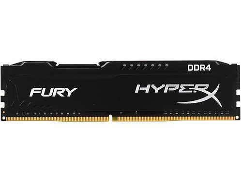 DDR4-2400 4G KINGSTON FURY BLACK CL15 #HX424C15FB/4