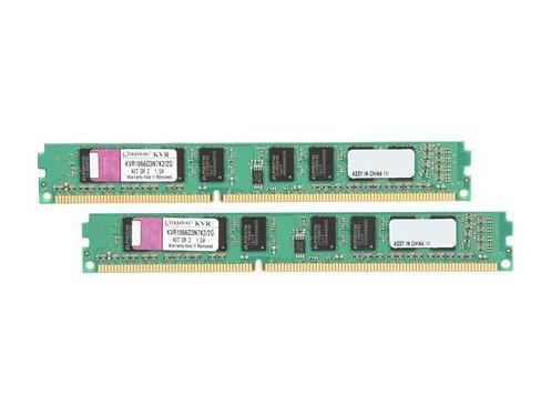 DDR3-1066 2G KIT KINGSTON #KVR1066D3N7K2/2G