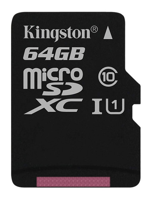 MICRO SDHC 64G KINGSTON C10 W/ ADP SDC10G2/64GBCR