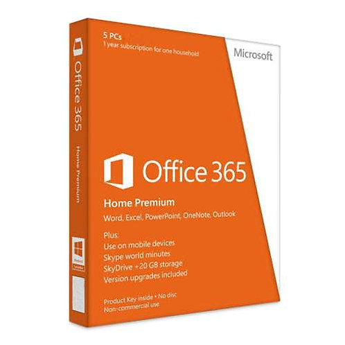 MS OFFICE 365 HP 1YR SUBSCRIPTION ENGLISH OEM 6GQ-00241