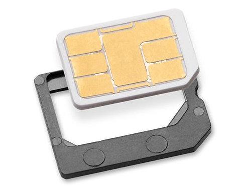 NANO SIM/MICRO SIM/STANDARD SIM CARD ADAPTERS FOR IPHONE 4/4S/5/5C/5S/6/6+