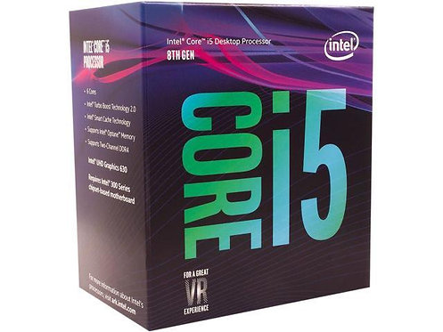 INTEL Ci5-8500 BX80684I58500 3.0/4.1GHZ 6 CORE 65W L1151 BOX CPU