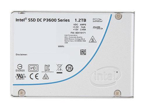 """SSD 1.2TB  INTEL SSD P3600 SERIES 2.5"""" U.2  SSDPE2ME012T401"""