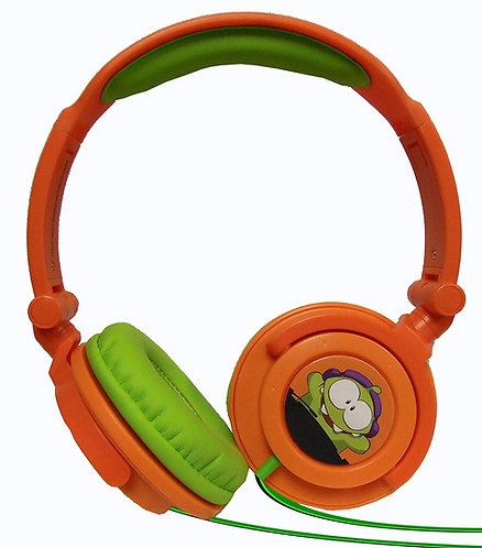 MAXELL CUT THE ROPE HEADPHONE #190803 ORANGE