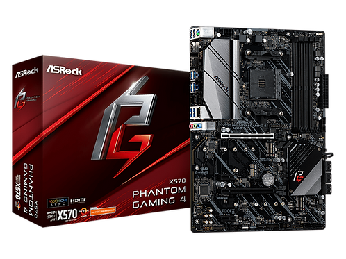 ASROCK X570 PHANTOM GAMING 4 AM4 AMD X570 SATA 6Gb/s ATX MB