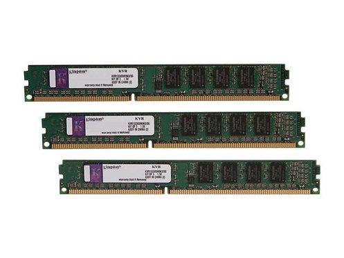 DDR3-1333 3G KIT KINGSTON #KVR1333D3N9K3/3G