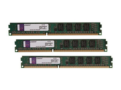 DDR3-1333 3G KIT KINGSTON #KVR1333D3N9K3/3G