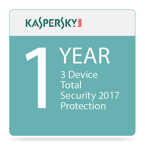 KASPERSKY TOTAL SECURITY 2017 KL1919ABCFS 3 USER R1751012CZZ