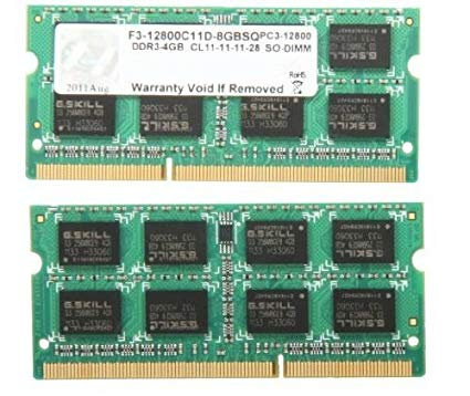 DDR3-1600 8G KIT G.SKILL SODIMM F3-12800CL11D-8GBSQ