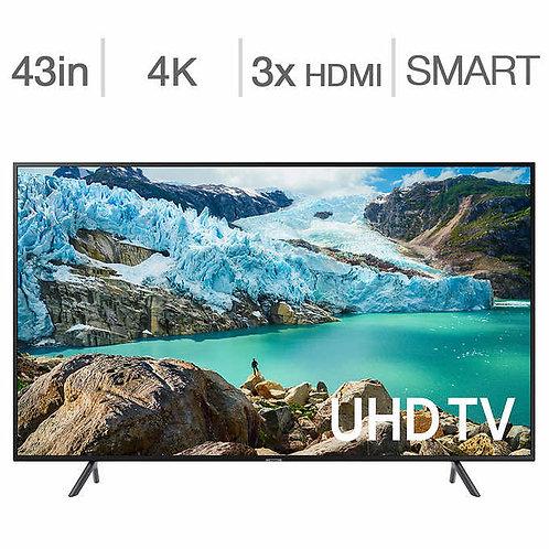 "SAMSUNG 43"" UN43RU7100 4K UHD SMART LED TV"