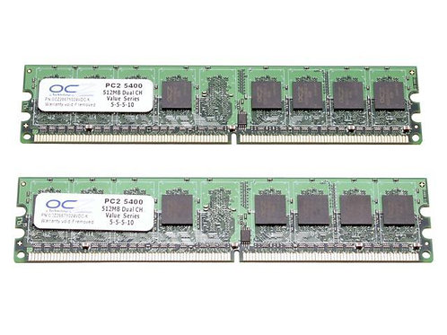 DDR2-533 512M KIT OCZ VALUE