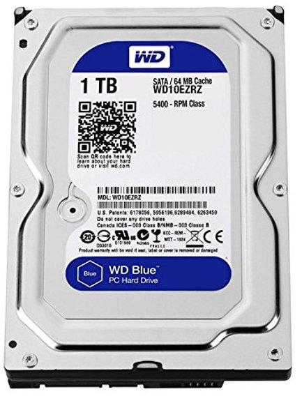 """HDD 1TB WD 3.5"""" WD10EZEX SATA3 7200RPM 64MB BLUE"""