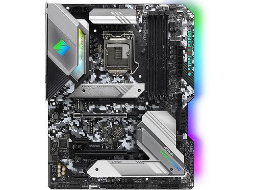 ASROCK Z490 STEEL LEGEND INTEL Z490 L1200 DDR4 SATA3 USB3.2 M.2 ATX MB