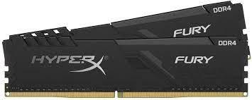 DDR4-2400 8G KIT KINGSTON HX424C15FB3K2/8 HYPERX FURY CL15 (2 X 4GB)