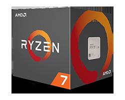 AMD RYZEN 7 1700 3GHZ 3.7GHZ TURBO AM4 65W YD1700BBAEBOX