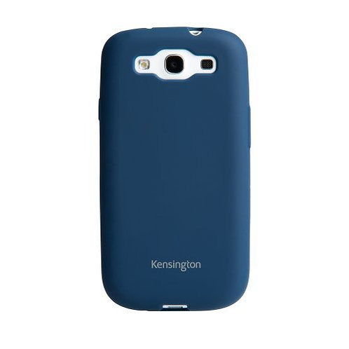KENSINGTON SOFT CELL PHONE CASE FOR SAMSUNG GALAXY S3 BLUE