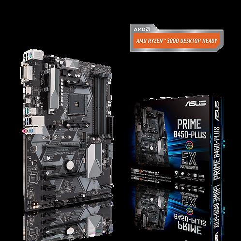 ASUS PRIME B450-PLUS AM4 B450 SATA3 USB3.1 HDMI ATX MB