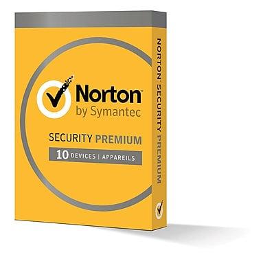 NORTON SECURITY PREMIUM 3.0 10 DEVICE-PC/MAC/PHONES/TABLTET 1 YR 21360144