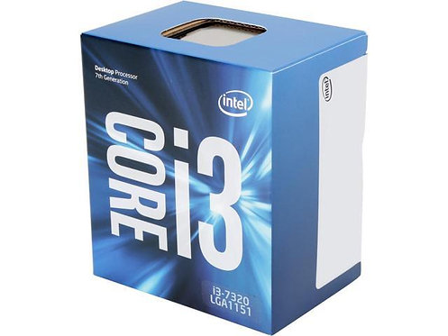 INTEL CI3-7320 BX80677I37320 4.1 GHZ 4M 1151 2CORE 51W BOX CPU