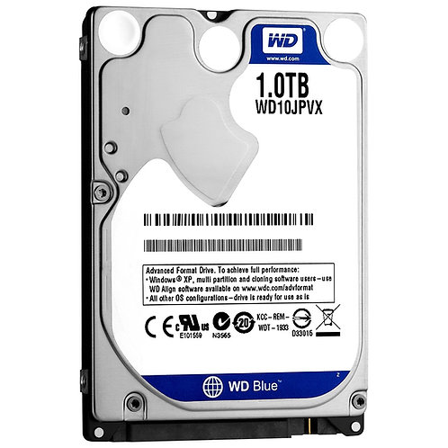 """HDD 1TB WD 2.5"""" WD10JPVX SATA3 5400RPM 8M BLUE"""