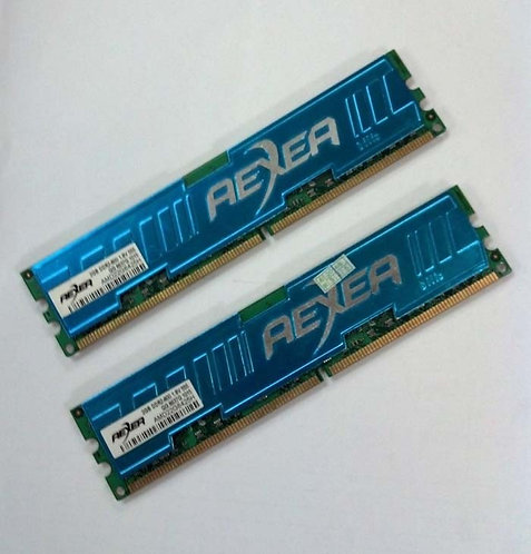 DDR3-1333 4G KIT AEXEA (2G X 2)