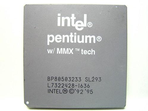 INTEL MMX-233 296 PIN SOCKET7 BP80503233 OEM CPU