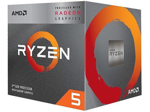 AMD RYZEN 5 3400G 3.7 /4.2GHZ AM4 65W YD3400C5FHBOX