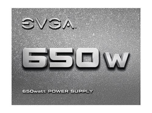 EVGA 100-N1-0650-L1 650W +12V 120MM POWER SUPPLY