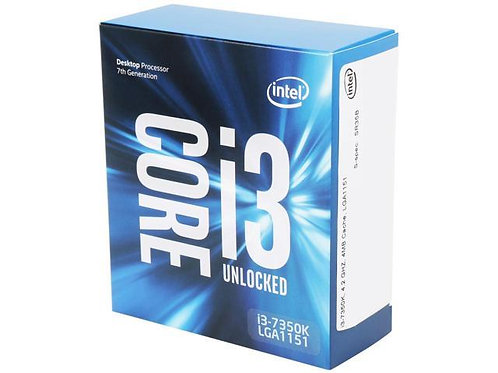 INTEL CI3-7350K BX80677I37350K 4.2 GHZ 4M 1151 2CORE 4THREAD BOX CPU