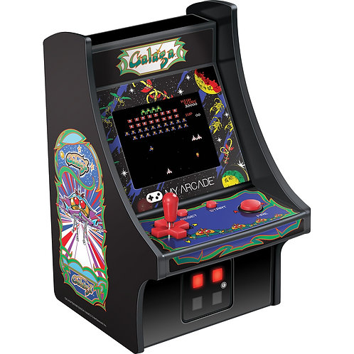 MY ARCADE 6 IN MICRO PLAYER GALAGA MACHINE