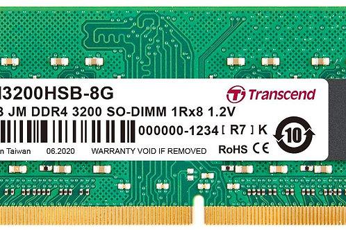 DDR4-3200 8G CL22 TRANSCEND SODIMM JM3200HSB-8G