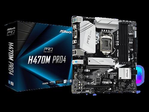ASROCK H470M PRO4  L1200 DDR4-SDRMA MICRO ATX MB