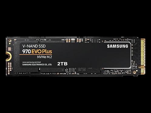 SSD 2TB SAMSUNG 970 EVO PLUS NVMe M.2 2280 MZ-V7S2T0B/AM
